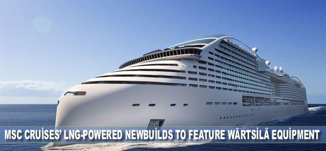 MSC Cruises' LNG-Powered Newbuilds to Feature Wärtsilä Equipment