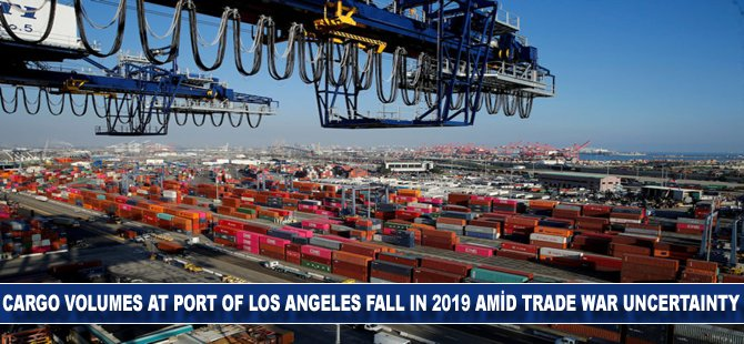 Cargo Volumes at Port of Los Angeles Fall in 2019 Amid Trade War Uncertainty