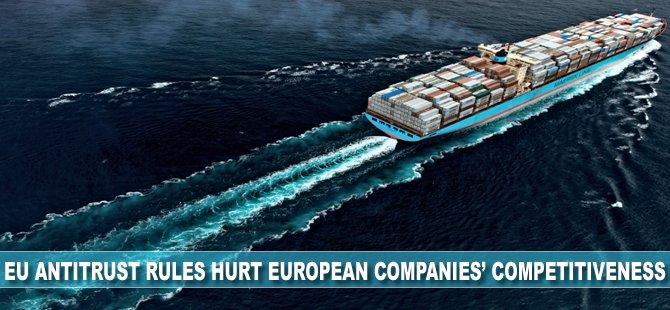 Maersk CEO: EU Antitrust Rules Hurt European Companies' Competitiveness