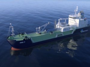 probunkers, Hyundai Mipo Sign LOI for LNG Bunker Vessel Pair