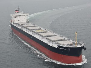 NYK: Coal Carrier Newbuild Starts Working for Joban Joint Power