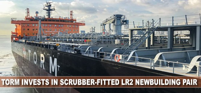 TORM Invests in Scrubber-Fitted LR2 Newbuilding Pair