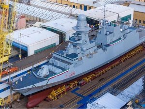 Italian shipbuilding company Fincantieri has launched the tenth multipurpose frigate Emilio Bianchi
