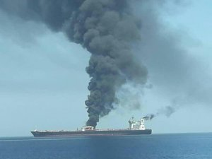 UAE says working to put out fire on oil tanker off Sharjah coast