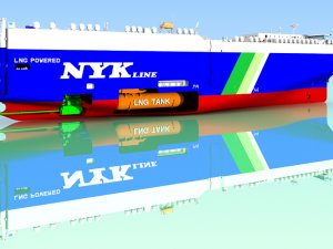NYK Orders 2nd LNG-Fueled PCTC