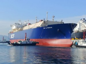 SCF Names LNG Carrier Intended for Charter with Total