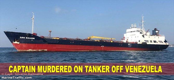 Captain Murdered on Tanker Off Venezuela