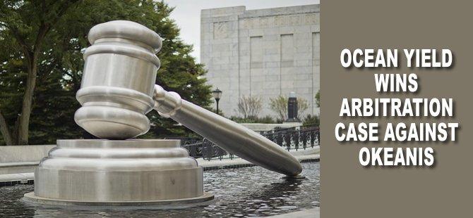 Ocean Yield Wins Arbitration Case against Okeanis
