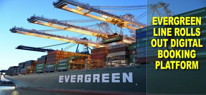 Evergreen Line Rolls Out Digital Booking Platform