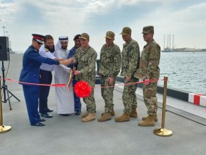 US Navy completes pier project at Bahrain base to boost operational readiness