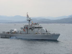 Explosion on Korean Navy patrol boat, 7 wounded