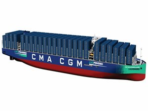 CMA CGM's newbuilds feature integral bunker tanks