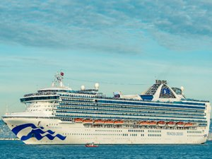 Coronavirus-Hit Grand Princess Departs from Oakland, All Guests Disembarked
