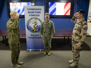 France takes command of Combined Task Force 150