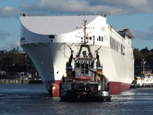 FSG Delivers Eighth RoRo Newbuild to Siem