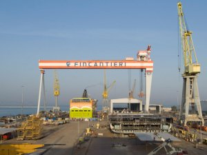 Fincantieri Extends Production Halt at All Cruise Ship, Naval Plants