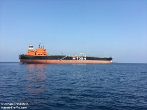 TORM Aframax tanker reported 3 crew including woman injured in boat fall