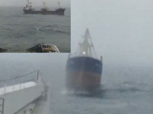 Disabled Lebanese freighter towed back to Marmara sea