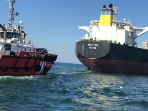 Greek tanker suffers mechanical issue in Bosphorus Strait