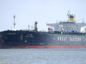 Explosions and major fire on Aframax crude oil tanker, Indonesia