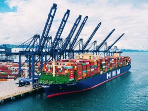 World's Largest Containership Departs China with Record Load