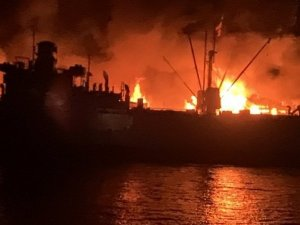 San Francisco Firefighters Save WWII Liberty Ship SS Jeremiah O'Brien