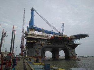 OOS International's newbuild SSCV awaits sea trials