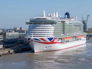 P&O Cruises' LNG-powered newbuild to go on sea trials