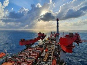 PHOTO: Allseas vessel up and running on Karish pipeline offshore Israel