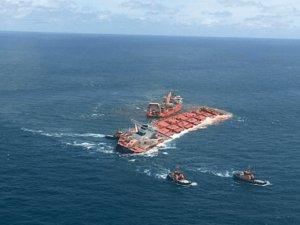 Giant Ore Carrier Stellar Banner Refloated Off Brazil