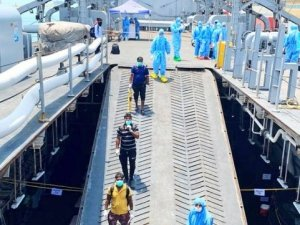 Indian Navy Evacuates Stranded Citizens from Iran