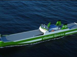 Construction starts on Finnlines' hybrid RoRo vessel