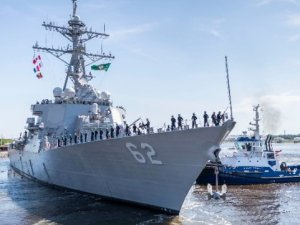Three Years After Fatal Collision, USS Fitzgerald Returns to Service
