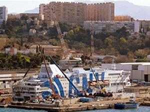 Italian ferry fire, Marseilles
