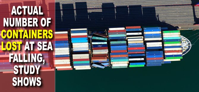 Actual Number of Containers Lost at Sea Falling, Study Shows