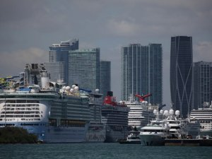 The World's Cruise Ships Can't Sail. Now, What to Do With Them?