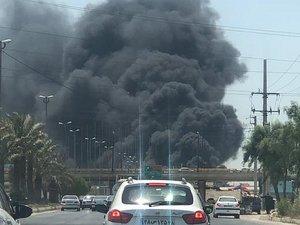 Major Fire Damages Seven Boats at Port of Bushehr, Iran