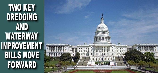Two Key Dredging and Waterway Improvement Bills Move Forward