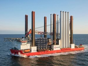 Taillevent readying for wind turbine installation off Taiwan