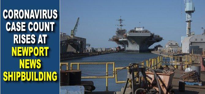 Coronavirus Case Count Rises at Newport News Shipbuilding