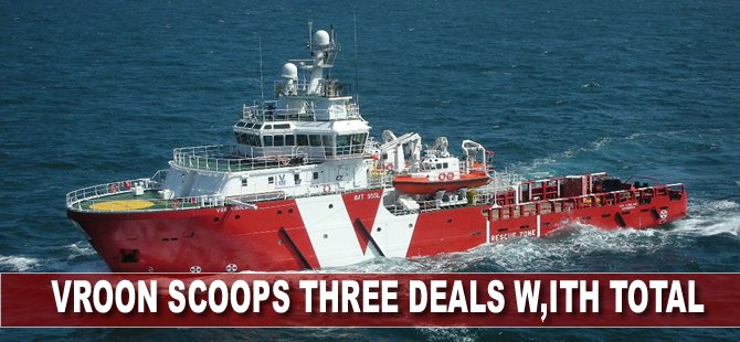 Vroon scoops three deals with Total