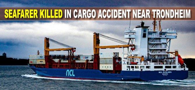 Seafarer Killed in Cargo Accident Near Trondheim