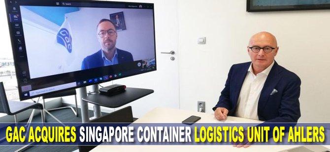 GAC acquires Singapore container logistics unit of Ahlers