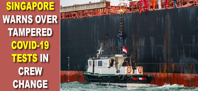 Singapore warns of increasing number of COVID-19-infected seafarers, breaches of SHN orders