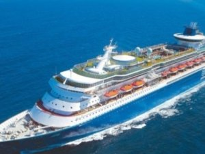 Sovereign, the World's First Mega Cruise Ship, Arrives at Scrapyard