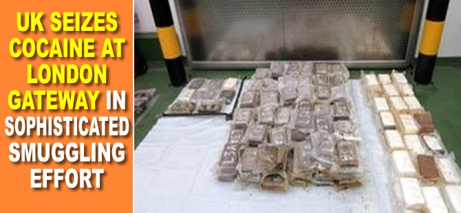 UK Seizes Cocaine at London Gateway in Sophisticated Smuggling Effort