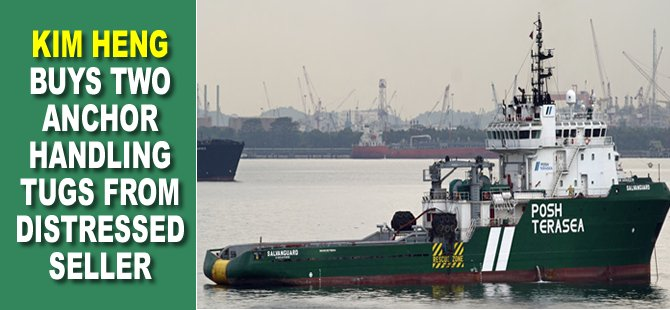 Kim Heng buys two anchor handling tugs from distressed seller