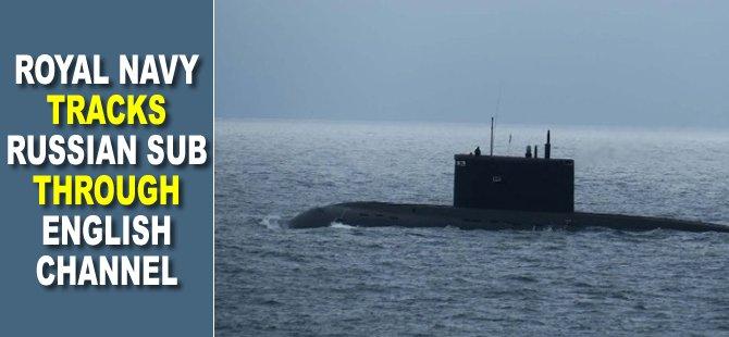 Royal Navy Tracks Russian Sub Through English Channel