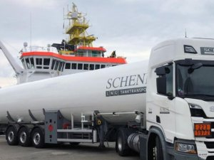 Gasum completes first truck-to-ship LNG bunkering for research vessel