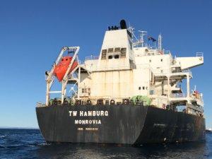 Australia bans second bulker this week